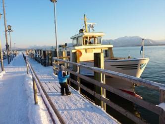 Winterurlaub Chiemsee
