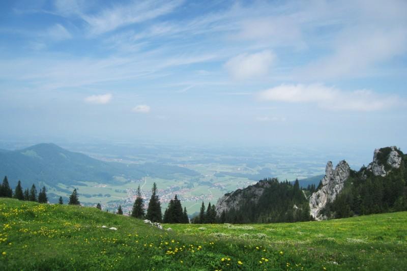 Sommer im Chiemgauer Voralpenland