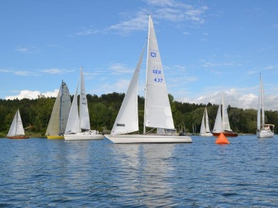 Sommer Regatta am Chiemsee