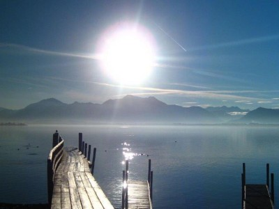 Wintersonne am Chiemsee