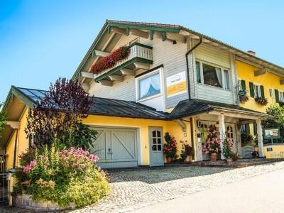 Hotel Steffl Ruhpolding im Sommer