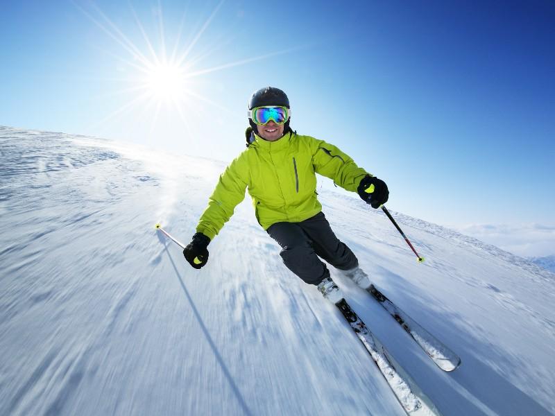 Skifahren und Snowboarden im Chiemgau