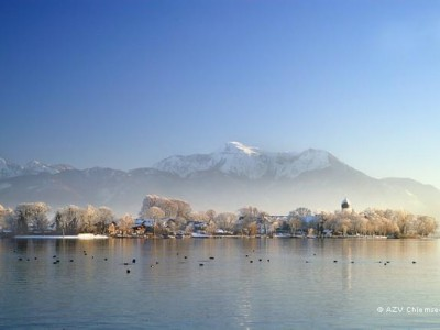 Winterstimmung am Chiemsee