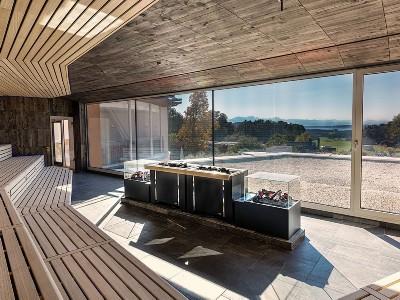 Chiemgau Thermen Panorama Sauna