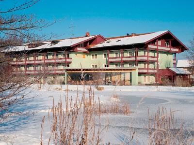 Unser Hotel Außenansicht Winter