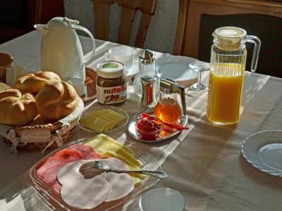 Frühstück auf Wunsch