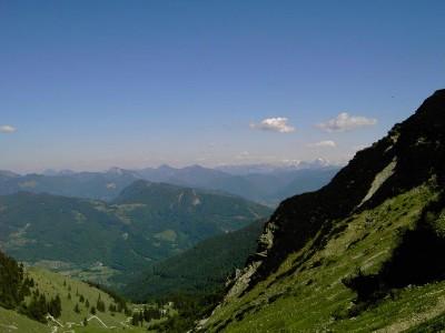 Der Ausblick vom Geigelstein