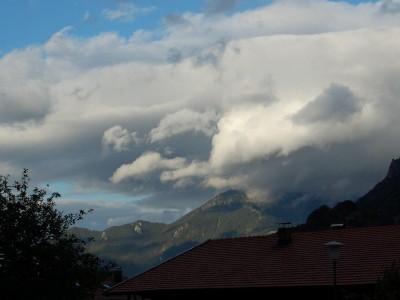 Wolkenspiel am Hochgern