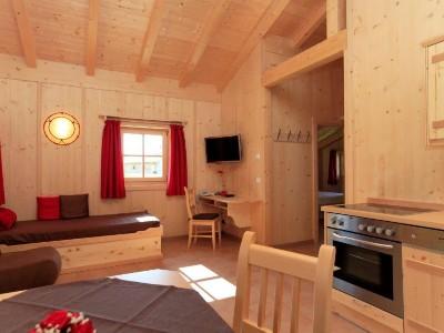 Chalet Wohnraum mit Küche