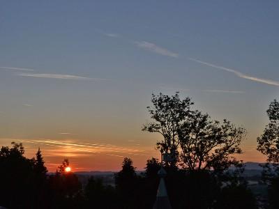 Sonnenaufgang übern Schlössl