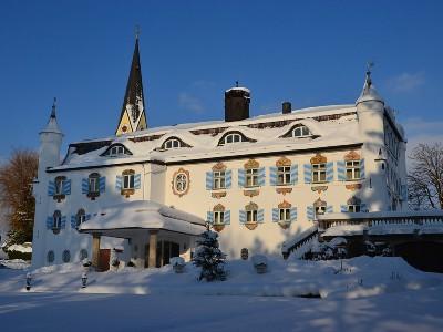 Bonnschlössl im Winter