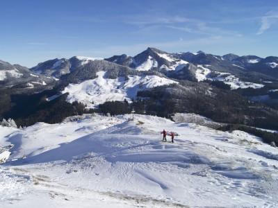 Die Chiemgauer Alpen im Winter