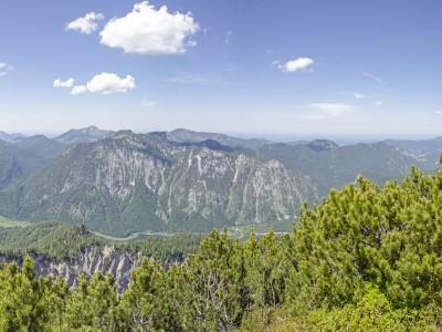 Die Chiemgauer Alpen im Sommer