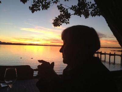 Chiemsee Sundown