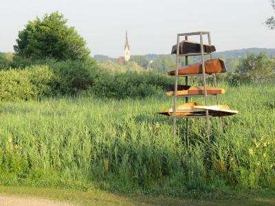 Skulpturenweg 'Bootswerft' C. Wichmann